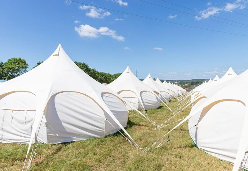 Boutique Camping - Isle of Wight Festival