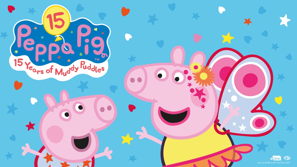 Join Peppa on Saturday