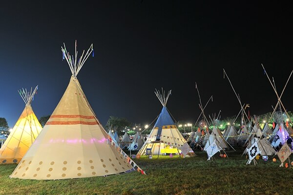 Boutique Camping Isle of Wight Festival