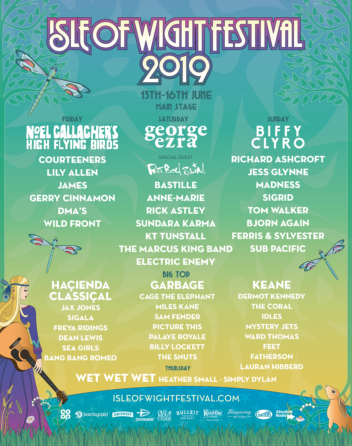 Isle of Wight Festival 2019 Lineup