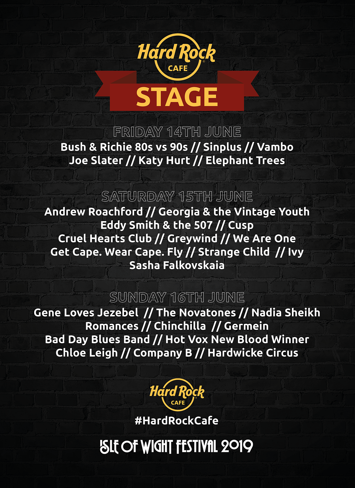 Hard Rock Stage - Isle of Wight Festival